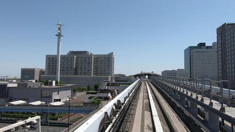 Train car window. Traveling in the city ビデオ
