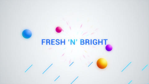 FRESH Word Logo Opener After Effects Template