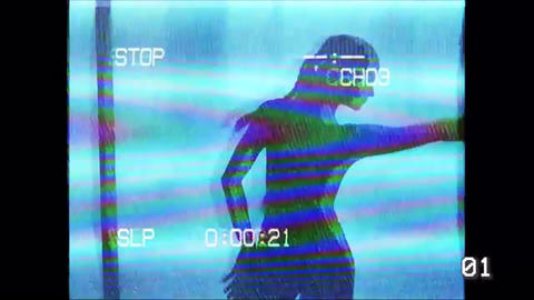 Vhs styles Premiere Pro Template