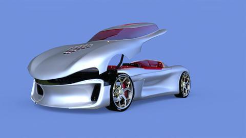Sports Car Animation