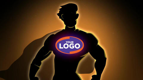 Hero Logo After Effects Template