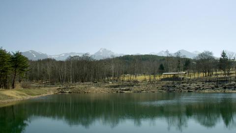 Sightseeing nagano haramura shizenbunkaen V1-0073 Footage