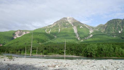 Sightseeing nagano kamikouchi V1-0091 Footage