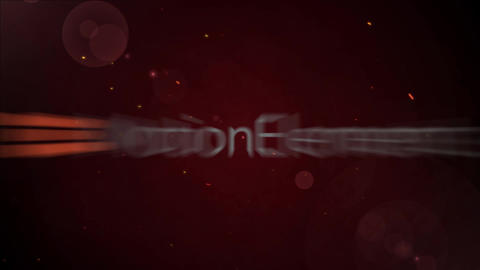 The title animation which is most suitable for the accent on the way of an opening title and the After Effects Template