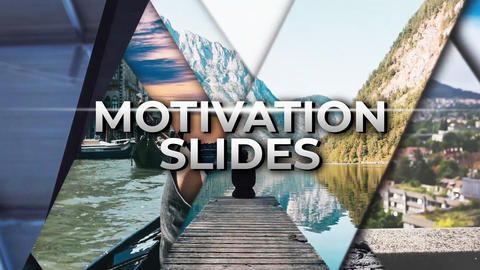 Motivation Slides Premiere Proテンプレート