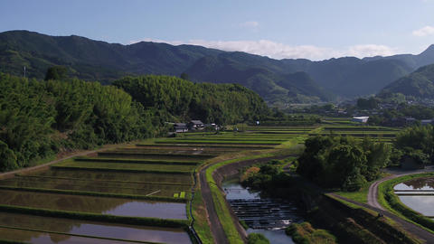 Japanese countryside Footage