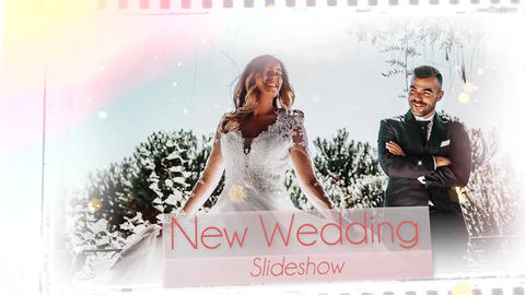Wedding Film Story Slideshow Premiere Pro Template