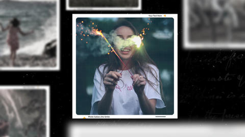 Photo Gallery The Smile After Effects Template