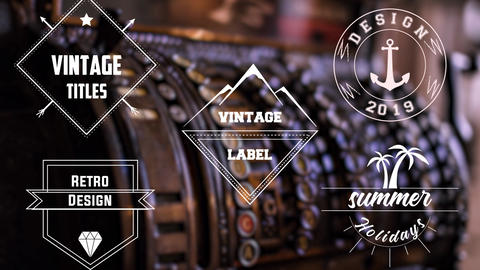 Vintage Titles After Effects Template