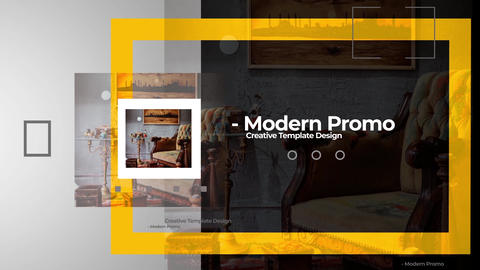 Modern Promo Project After Effects Template