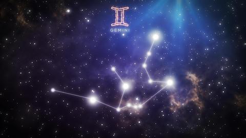 Zodiac constellation of GEMINI 4k