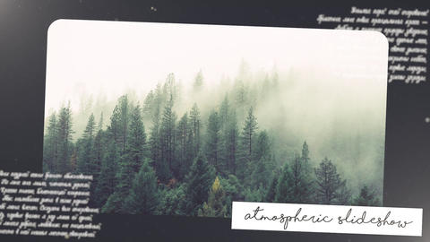 Atmospheric Slideshow Premiere Pro Template