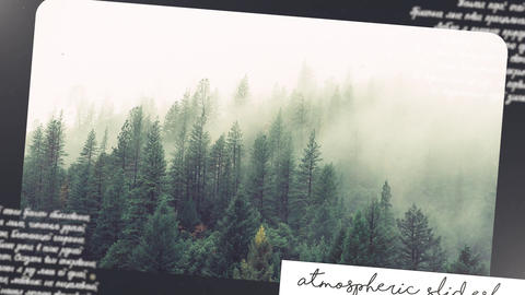 Atmospheric Slideshow 01 After Effects Template