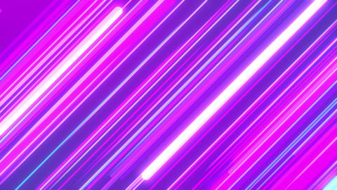 Glowing Diagonal Stripes Abstract Looping Background Animation