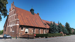 Church of saint Wawrzyniec (for the castle service) now museum in Malbork castle Live Action