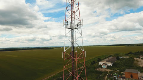 Telephone signal tower Live Action