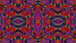 Dynamic Flowers Kaleidoscope Animation