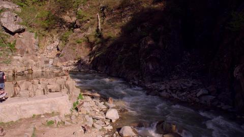 Spa nagano jigokudani V1-0092 Footage