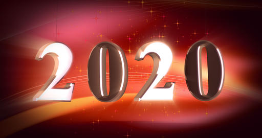 New year 2020 Animation