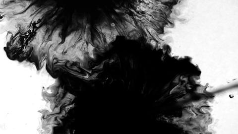 Video transition in the form of an ink blot Live Action