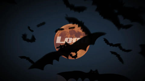 Volatile Bats Logo Reveal After Effects Template