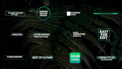 Titles-pack After Effects Template