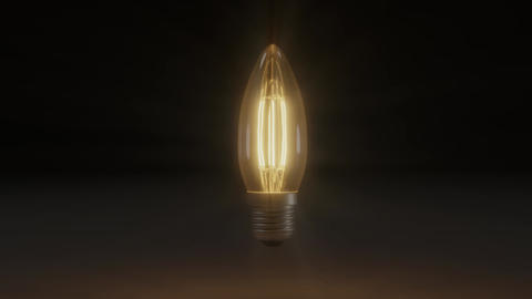 Flickering Lamp Loop Animation Animation