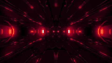 dark alien style sci-fi space tunnel corridor 3d rendering wallpaper motion Animation