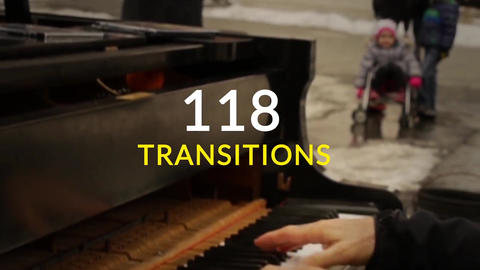 118 Transitions After Effectsテンプレート