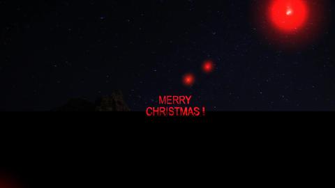 12 Animated greeting MERRY CHRISTMAS Animation