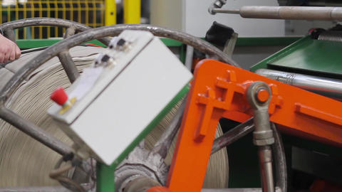Production process of tires on modern equipment Footage