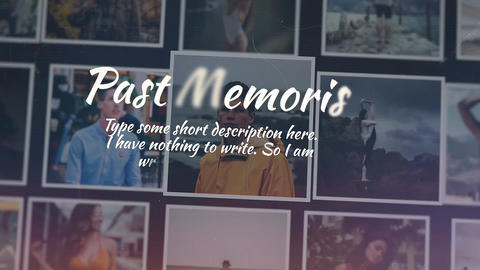 Past Memories Apple Motion Template