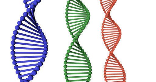 DNA Medical Science and Biotech Chemistry Genes Footage