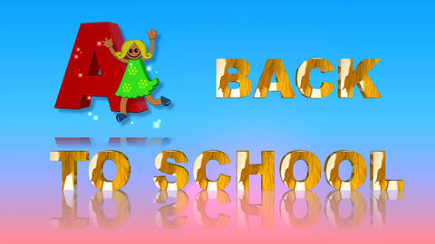 70 Back to school animated template Animation