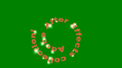 67 Animated words title Adobe after effects on green screen Animation