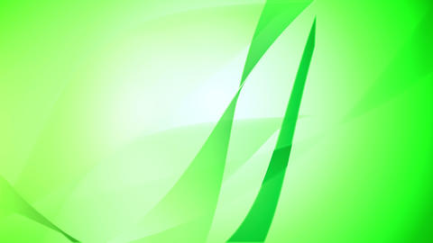 Green Motion background in low motion of elements Animation