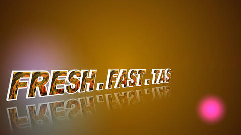 116 Fast tasty welcome animated logo for restaurant and food businesses Animation