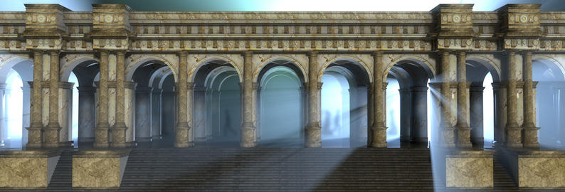 Roman Columns And Arches Animation