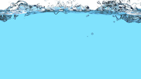 Water splash 3D animation Animation