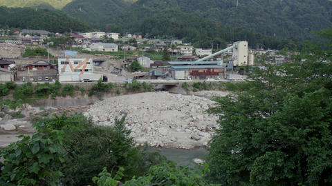 Town nagano nagiso V1-0092 Footage