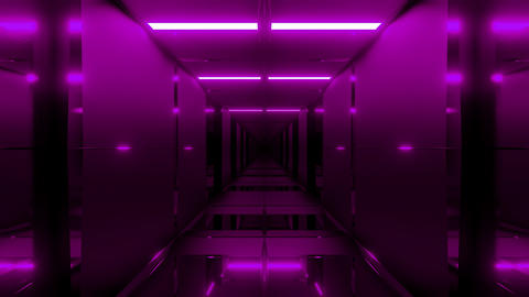 clean futuristic cool ci-fi tunnel 3d illustration background wallpaper motion Animation