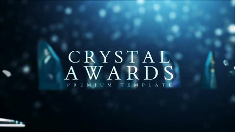 Crystal Awards After Effects Template