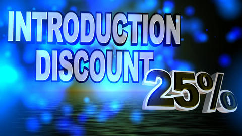 129 Introduction discount animated template for selling business Animation