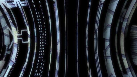 Rotation Circles 01 CG動画