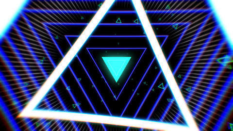 VJ triangle Animation