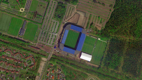 Earth Zoom from Luminus Arena - Genk - Belgium Live Action