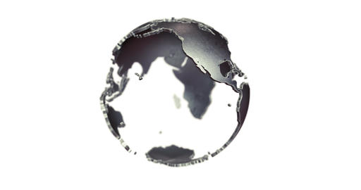 Metal Globe Animation