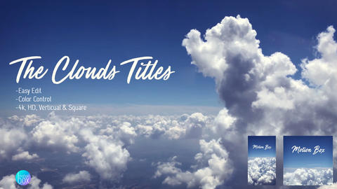 The Clouds Titles After Effects Template