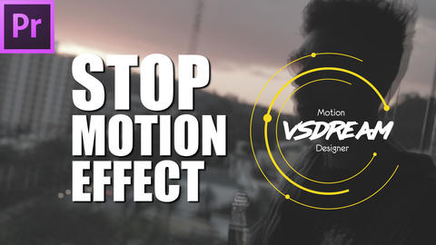 Stop Motion Look Presets Premiere Pro Template