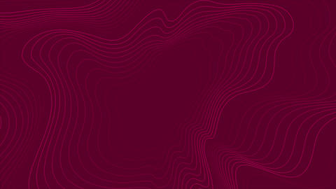 Bright purple abstract wavy pattern video animation Animation